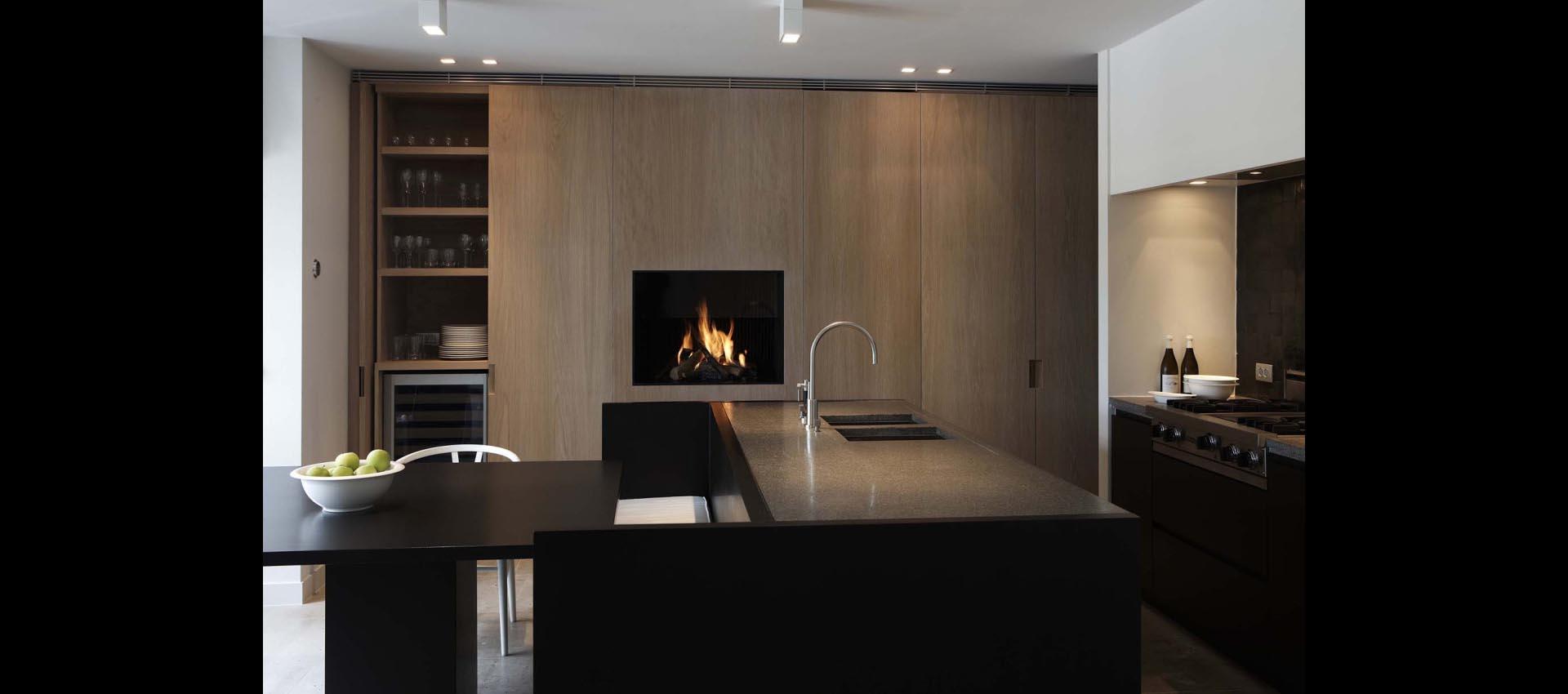 Großartig Kamin In Küchenschrank Fotos - Küchenschrank Ideen ...